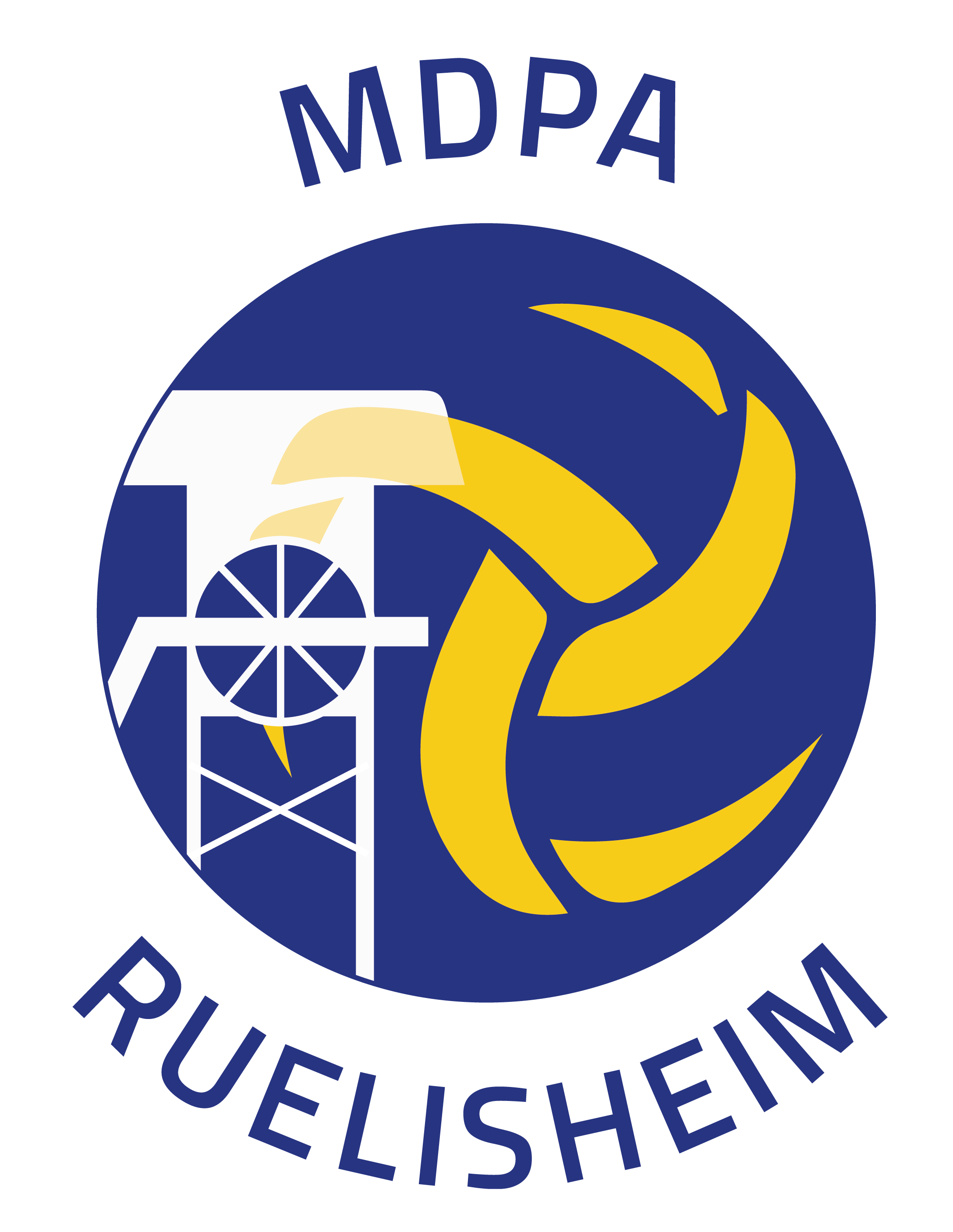 Logo MDPA VOLLEY RUELISHEIM